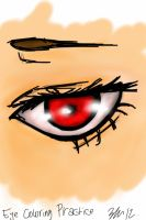 Eye Practice by AngelicReaper21