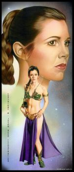 Leia- Slave Princess by MJasonReed