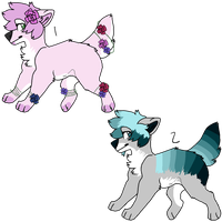 Dog adopts! -OPEN- by vintaqeflower