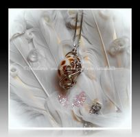 'Melody of the sea' sterling silver pendant by seralune