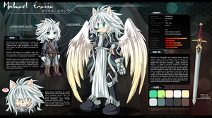 Michael Eracia - Ref Sheet by Chibi-Nuffie