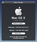 HUD About This Mac by lupatellovich