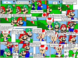 super mario bros page 5 by Nintendrawer