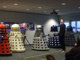 The Doctor And The Daleks by lunamaxwell