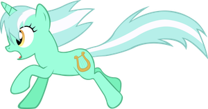 Lyra Heartstrings Running by ArtPwny