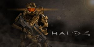 Halo 4 Digital Art by Th3PinkNinj4
