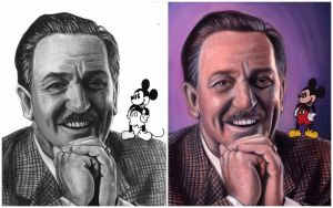 Walt Disney by AshleyCharlene
