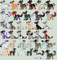 LionAdoptables by Kainaa