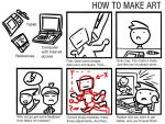 How To Make Art - A Comic Meme by Poila-Invictiwerks