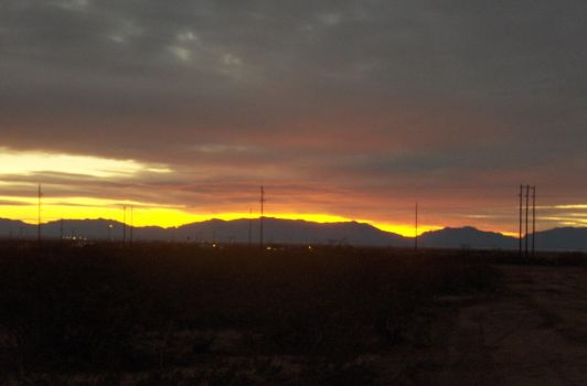 new mexico dusk by camrongage