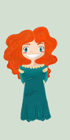 Chibi Merida by GiuliaIulia
