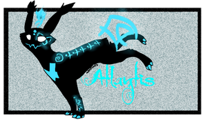 Atlantis (custom wisp-cat) Ref by Bluesky-of-Fire