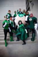 Green Lantern Corp. by ComicChic19