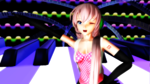 MMD ~ Let's dance on the piano! by Tuany-Neko-Daisuki