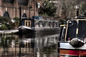 HDR Canal Boats by Preachman
