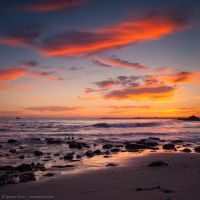 The colors after sundown by isotophoto