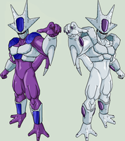 Frieza and Cooler 2 by legoFrieza