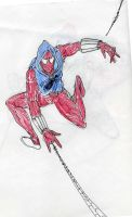 scarlet spider by theaven