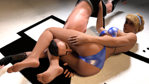 Wrestling lovers episode 12: Alexia by Efudeea