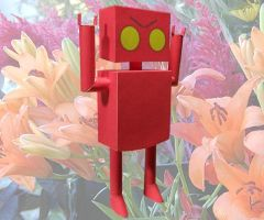 Red Robot C-63 by MikeHungerford