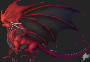AT: Red beauty by Ryuvhiel