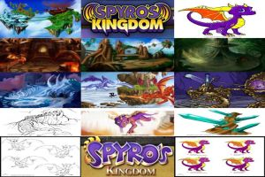 Spyro's Kingdom part 1 (before Skylanders) by Jayman239