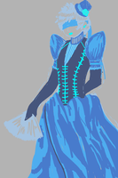 APH - Victorian Blue by aide-memoire