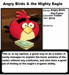 1001 Animations: Angry Birds and the Mighty Eagle by realshow