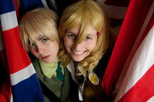 England and America from Hetalia by Almost-Focused