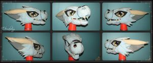 Dorumon V.2 Fursuit Foam Base by Eternalskyy