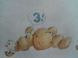 Counting 3 by Deusluxmea
