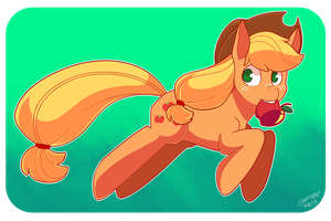 Apple Horse by Chiptoony