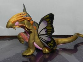 Gold Butterfly Dragon 2 by spot1the2dog3