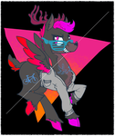 Party Stag   .-' Animated '-. by sofas-and-quills