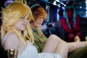 Limo Ride and Debut of Demon Stocking by ohmygoditsawesome