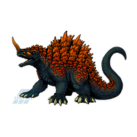 Powered Kaiju - THE SCORCHING MONSTER by AlmightyRayzilla