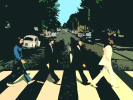 Abbey Road Wallpaper by IanMelbourne93