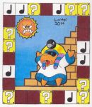 Super Mario Brothers Tarot Cards - Hierophant by Isuckworse
