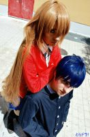 Dangerous union - Toradora by Carlos-Sakata
