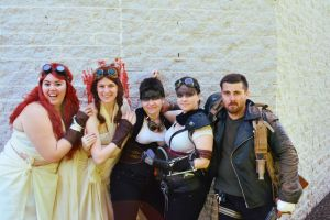 Max and the girls - Mad Max: Fury Road cosplay by FUBARProductions