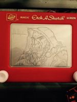 Etch a Thrall (World of Warcraft) by Hakoboh