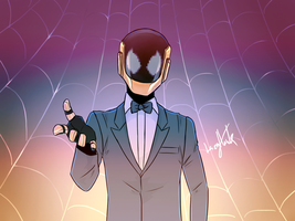 Daft Spider Punk by lazyhawk