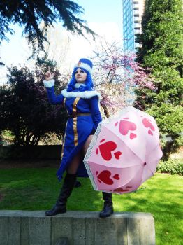 Juvia: L for Laxus! by Kimmi-Cosplay