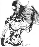 Female Venom by LangleyEffect