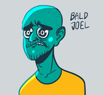 Bald Joel by NegitiveX