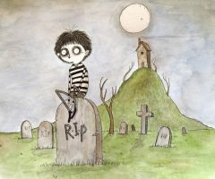 The Graveyard by sunflowerman