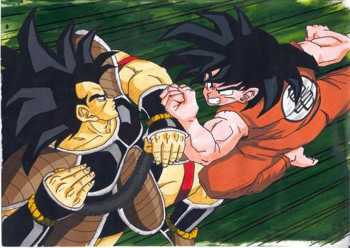 Radicz VS Songoku - brother against brother by Zackary