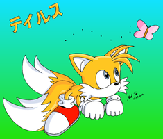 Tails- Ready to pounce by Rapid-the-Hedgehog