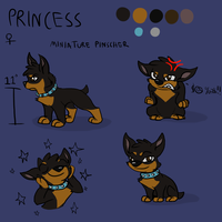 KNMA - Princess Ref by Wafflehouse0