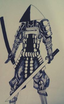 Samurai by facunichea